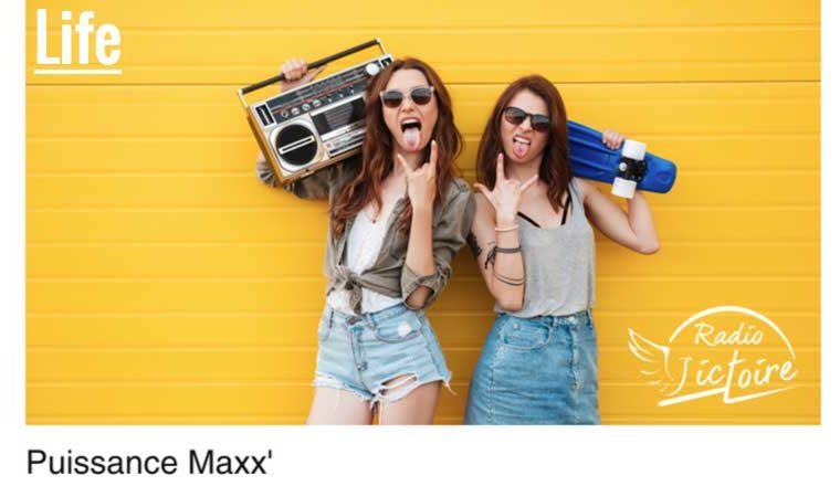 Passez en Puissance Maxx' avec Maxime Gasc sur Radio Victoire
