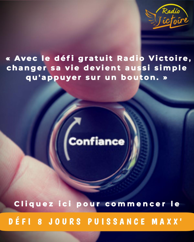 Relevez le Défi 8 Jours Puissance Maxx' de Radio Victoire